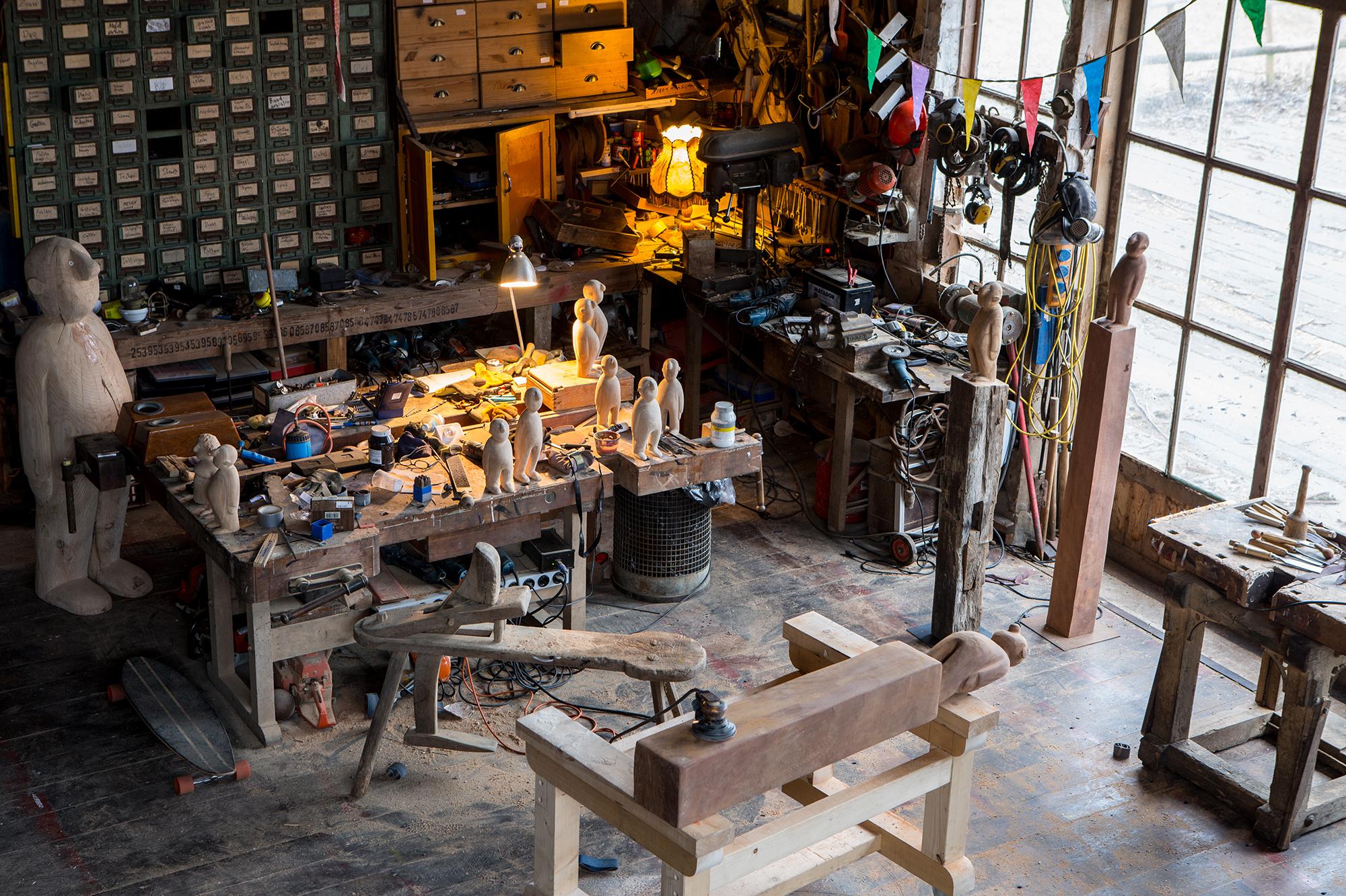 Atelier von Jonas Kötz